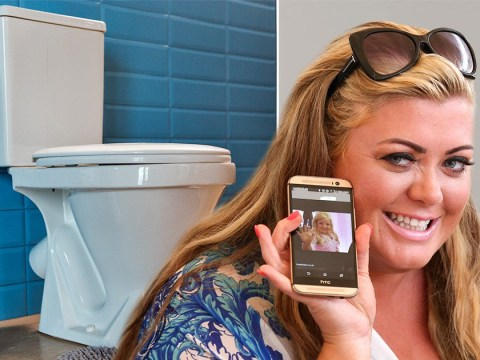 Gemma Collins convinced her phone is spying on her in the toilet: 'This is a serious warning'