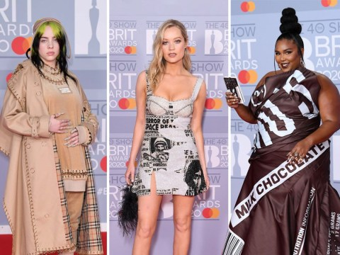 Brits 2020: Billie Eilish, Lizzo and Lewis Capaldi lead the red carpet arrivals