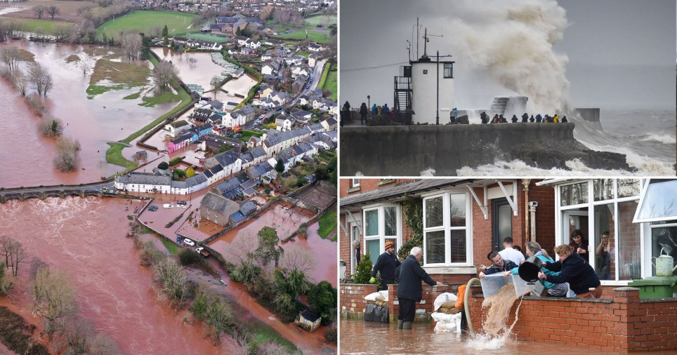 The government says extreme weather is something we will just have to adapt to after Storm Dennis (Picture: Getty)