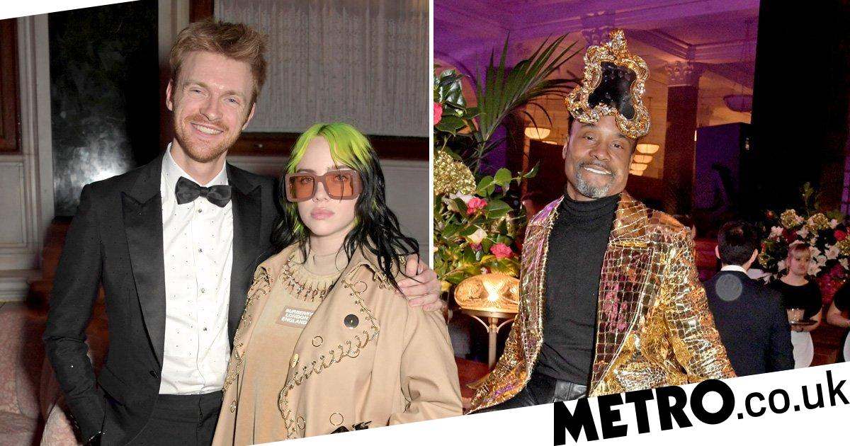 Billie Eilish too cool for school as she celebrates Brits win at after-party