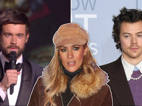 What tributes were paid to Caroline Flack at the Brit Awards 2020?
