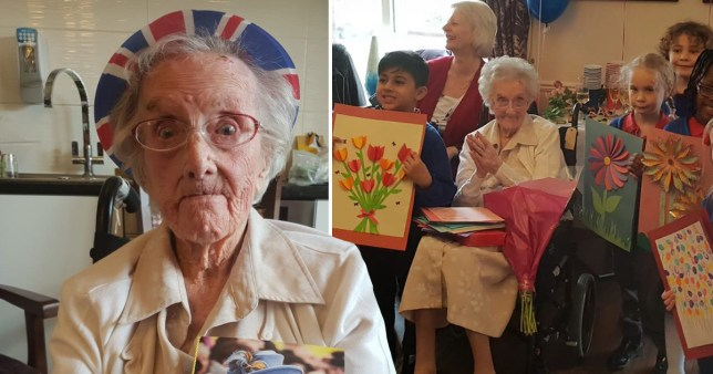 Britain's oldest person Hilda Clulow