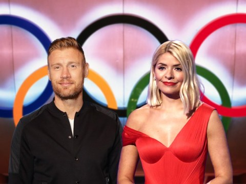 Holly Willoughby teaming up with Freddie Flintoff for celebrity Olympic games