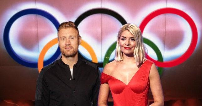 Freddie Flintoff and Holly Willoughby land new TV series together