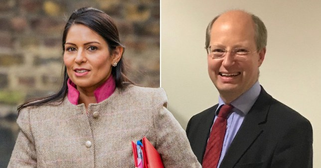 Priti Patel has clashed with her top civil servant amid accusations she bullies staff (Picture: Rex - Philip Rutnam)
