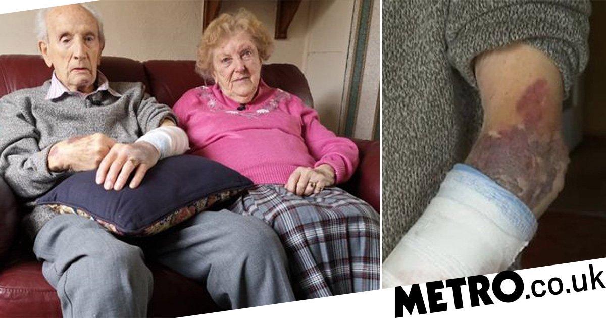 Veteran, 102, fights off burglar who attacked him at front door