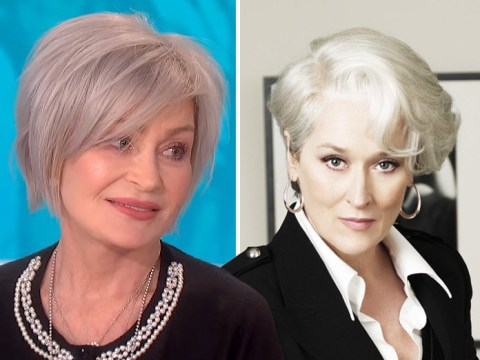 Ozzy Osbourne thinks Sharon's new white hair makes her look like The Devil Wears Prada's Miranda Priestly