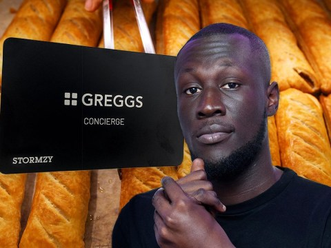 Stormzy blessed with the first ever Greggs black card and we have never been more jealous of a person