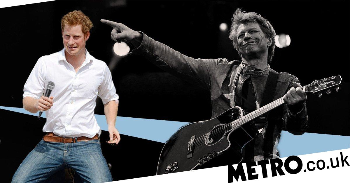 Prince Harry teases Bon Jovi collaboration in amusing WhatsApp exchange