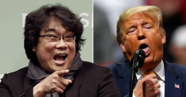 Donald Trump is not impressed that Parasite is doing well because it\'s South Korean