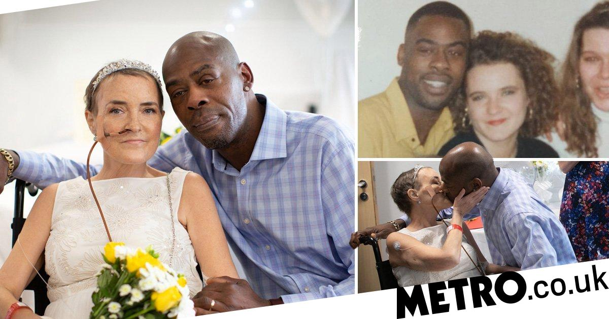 Terminally ill bride dies days after finally marrying her partner of 27 years