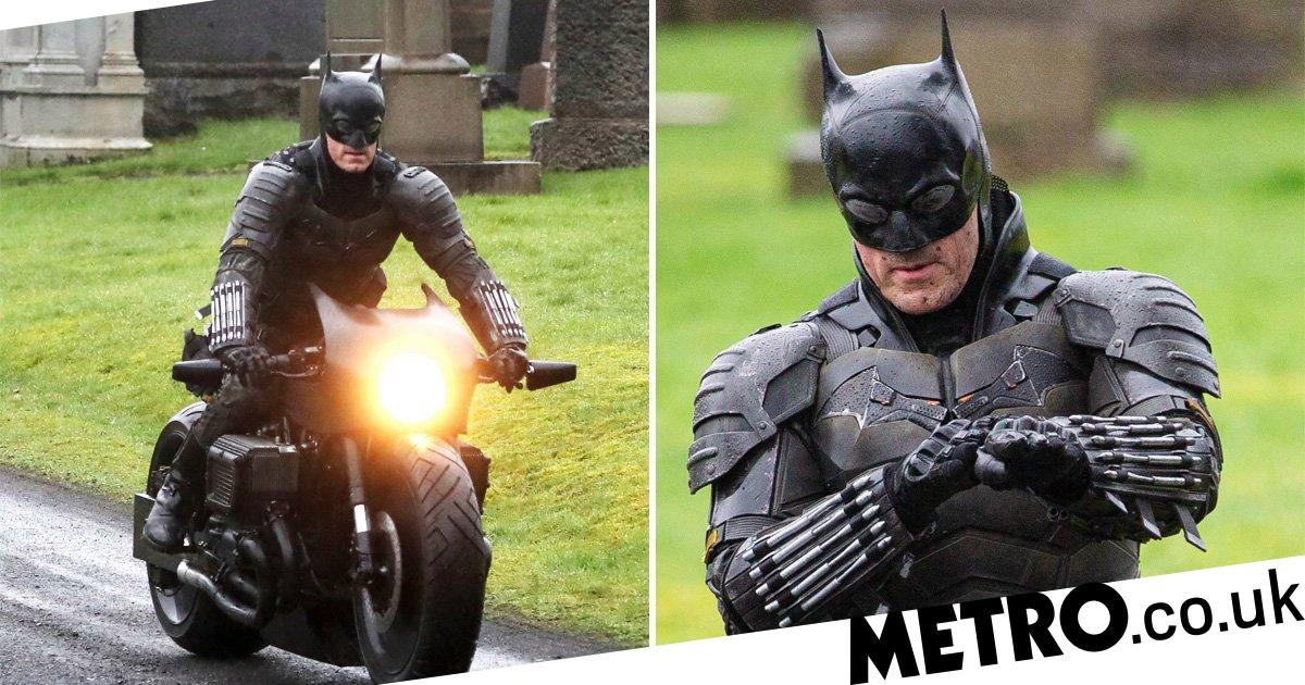 The Batman's full batsuit revealed on Robert Pattinson's stunt double
