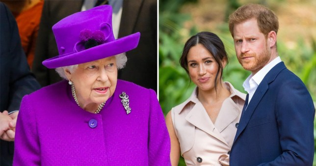 Meghan and Harry have made a statement 'clarifying' their new role within the royal family (Picture: Getty)