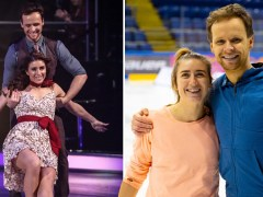 Dancing on Ice star reveals Paralympian Libby Clegg uses Morse Code with skating partner