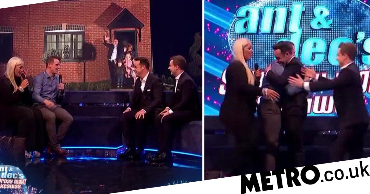 Ant and Dec leave Saturday Night Takeaway fans in tears after surprising couple