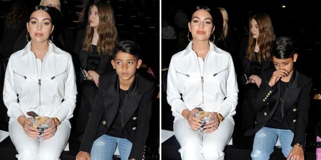 Cristiano Ronaldo S Son And Georgina Rodriguez At Milan Fashion Week Metro News