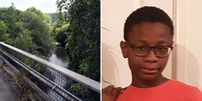 Christopher Kapessa drowned in the River Cynon in south Wales