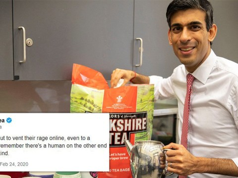 Yorkshire Tea bombarded with abuse after chancellor poses with brew