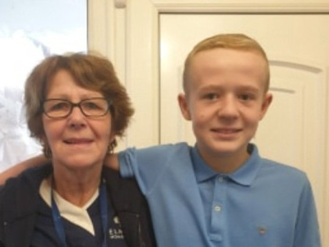 Boy ignores footballers and celebs to call his grandma his hero in his homework assignment