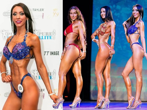 'Bikini bodybuilding competitions helped me overcome daily panic attacks and agoraphobia'