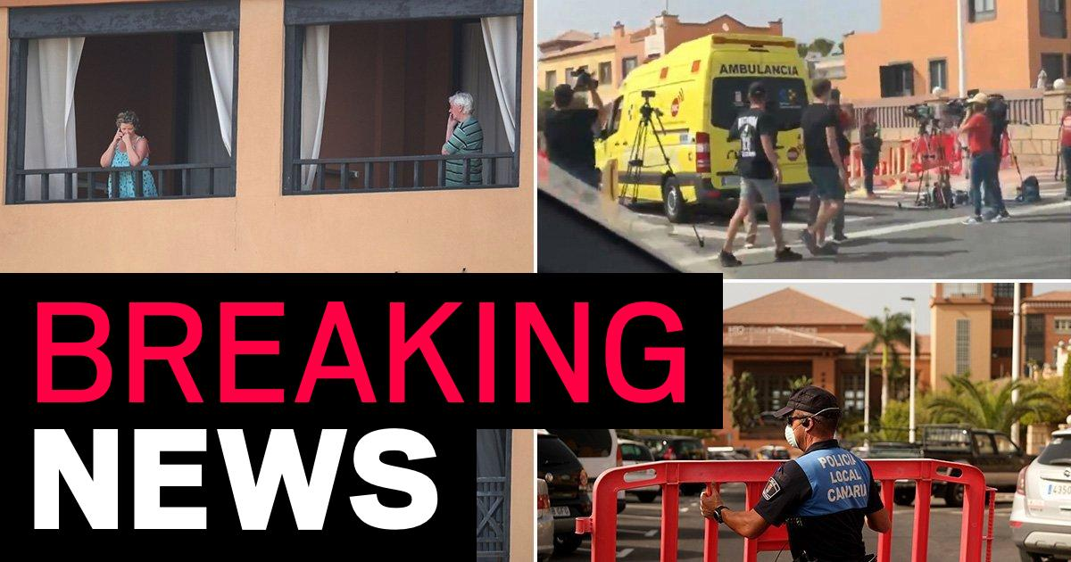 Four test positive for coronavirus at hotel where 1,000 people are holed up