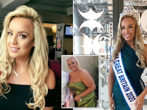 Woman dumped by fiancé 'for being fat' becomes Miss Great Britain 2020