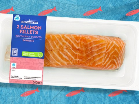 Lidl's fresh fish packaging will be made from recycled plastic bound for the ocean