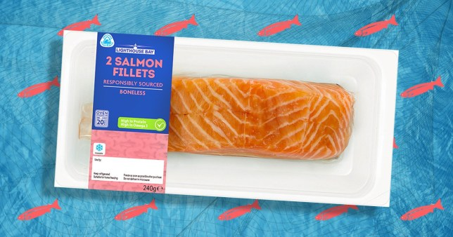 Lidl's new recycled fish packaging