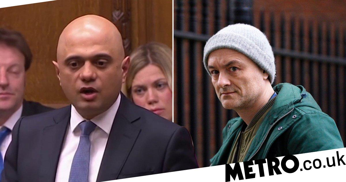 Sajid Javid bitterly lashes out at Boris's chief adviser Dominic Cummings