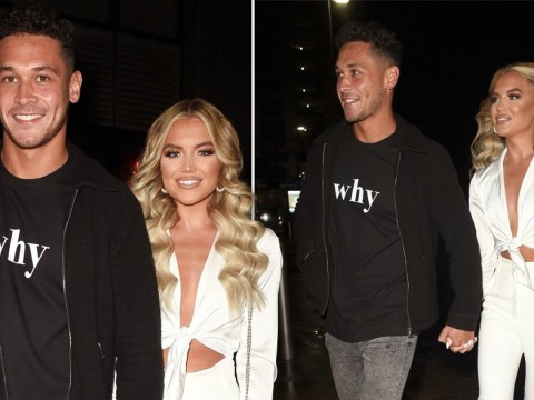 Love Island star Callum Jones jokes he's 'dragged Molly Smith out' in Manchester as they bring their villa romance to home soil