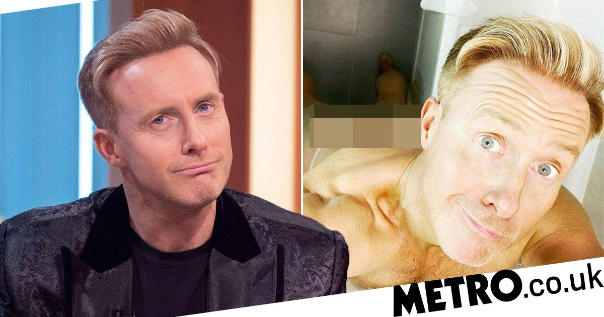 Dancing On Ice's Ian 'H' Watkins shares cheeky belfie with fans