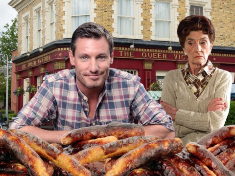 Dean Gaffney stuffed sausages down his trousers while filming EastEnders