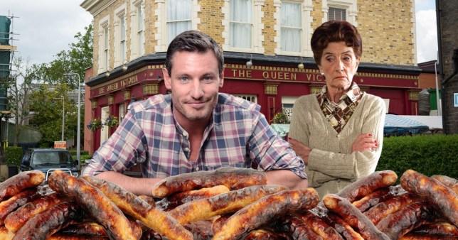 Dean Gaffney sausage