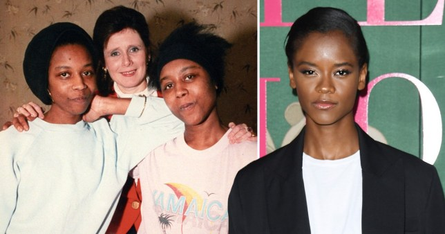 The Silent Twins June and Jennifer Gibbons and Letitia Wright