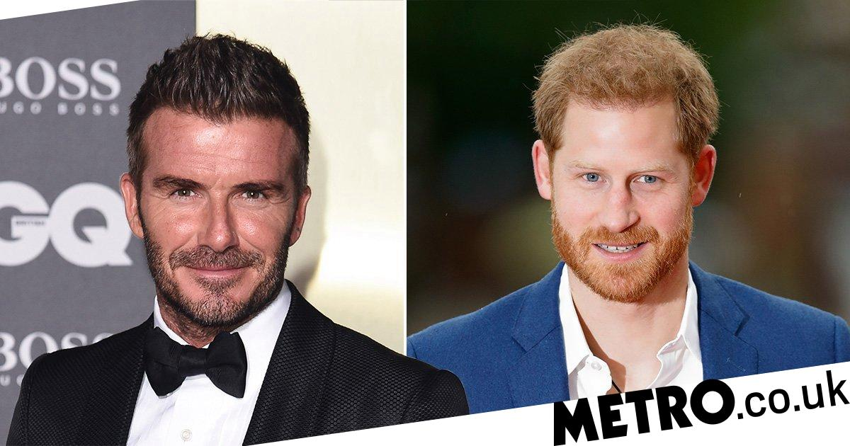 David Beckham hopes Prince Harry 'is ok' and says he's a 'great dad'