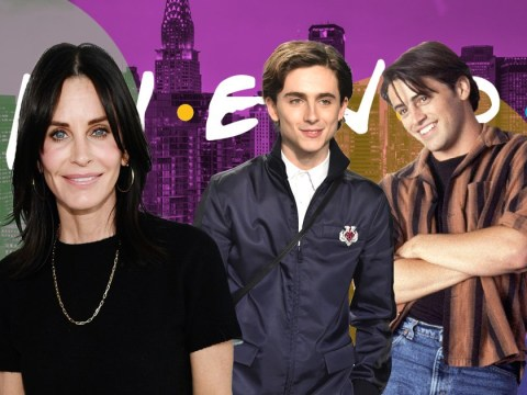 Friends star Courteney Cox would recast Timothée Chalamet as Joey Tribbiani and we're here for it
