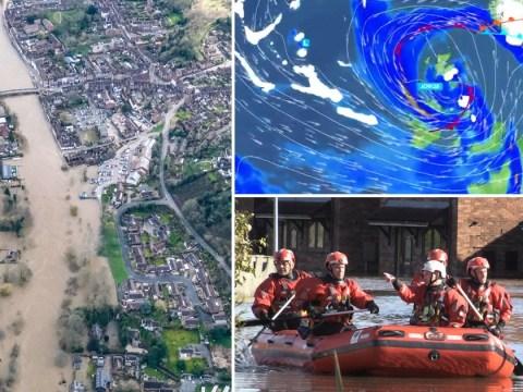 Storm Jorge raging towards Britain bringing even more flooding