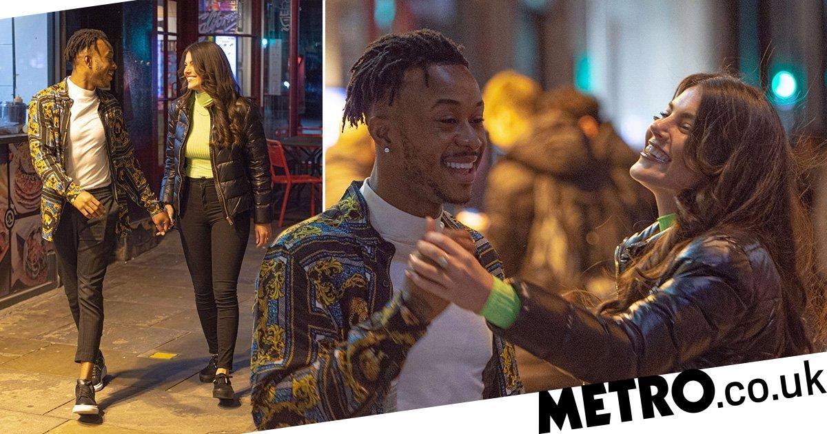 Love Island's Rebecca Gormley and Biggs Chris go on kebab date