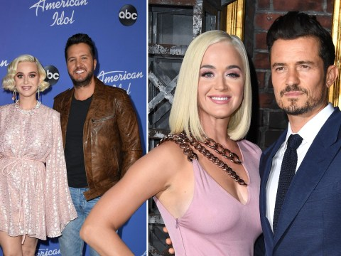 Katy Perry shows off Orlando Bloom's romantic proposal spot to American Idol judges