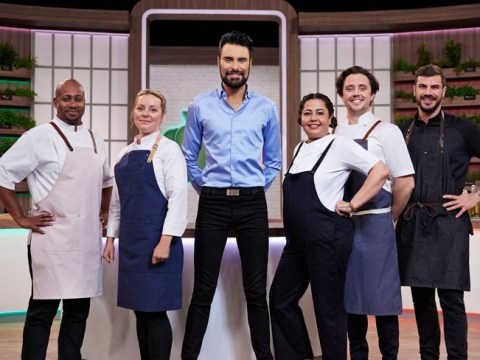 Rylan Clark-Neal asked for Ainsley Harriott's approval to present Ready Steady Cook revival