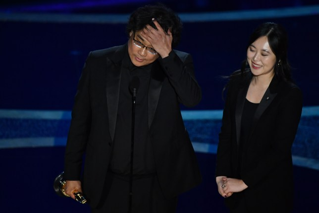Bong Joon-Ho wins best director for Parasite