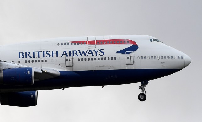 epa08174656 (FILE) - A British Airways (BA) aircraft prepares to land at Heathrow Airport in London, Britain, 16 January 2020 (reissued 29 January 2020). Media reports on 29 January 2020 state British Airways has suspended all flights to and from mainland China with immediate effect amid the ongoing coronavirus crisis. EPA/ANDY RAIN