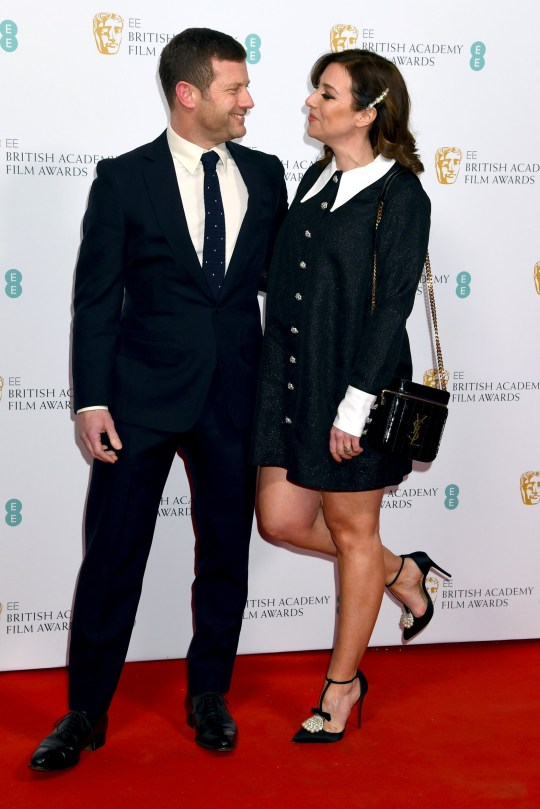 LONDON, ENGLAND - FEBRUARY 01: Dermot O'Leary and Dee Koppang attend the EE British Academy Film Awards 2020 Nominees' Party at Kensington Palace on February 01, 2020 in London, England. (Photo by Dave J Hogan/Getty Images)