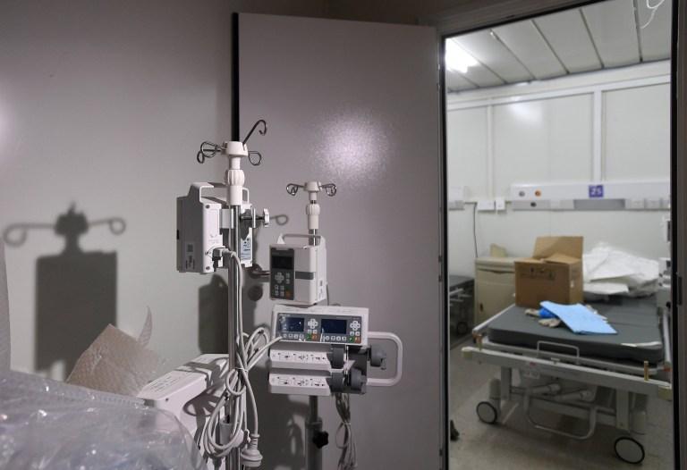 epa08187667 Vue des installations d'une chambre d'isolement de l'hôpital Huoshenshan de Wuhan, province du Hubei, Chine, 02 février 2020. La construction de l'hôpital de campagne temporaire de 1 000 lits, qui a commencé le 24 janvier 2020 pour accueillir de nouveaux patients atteints de coronavirus, a été annoncée achevé le 02 février.  EPA / SHEPHERD ZHOU CHINE OUT