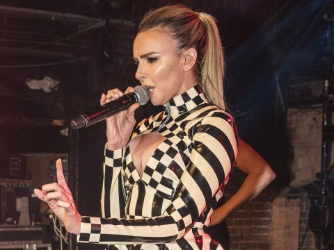 Nadine Coyle gives us a PVC preview of her latest bop All That I Know during performance in London