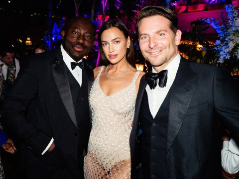 Bradley Cooper and Irina Shayk show exes can be friends as they cross paths at Bafta after party