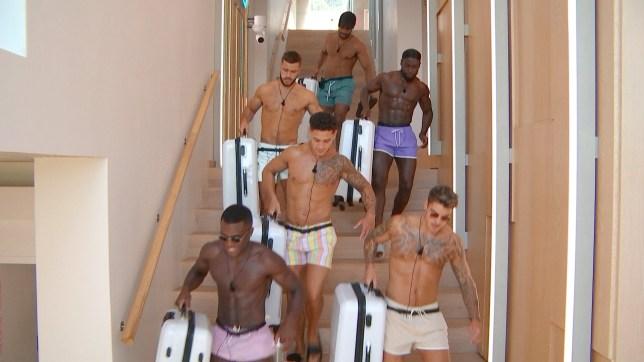 The Love Island boys leave for Casa Amor