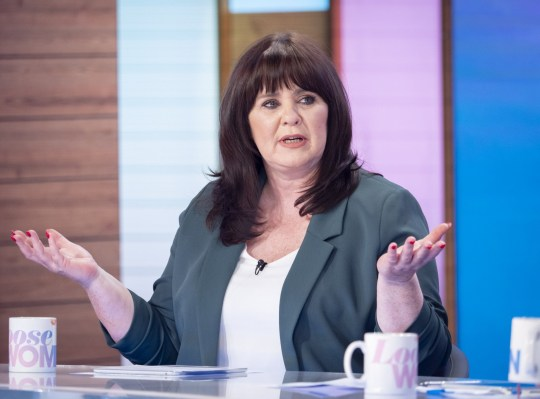 Editorial use only Mandatory Credit: Photo by S Meddle/ITV/REX (10546899bq) Coleen Nolan 'Loose Women' TV show, London, UK - 03 Feb 2020
