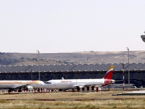 Plane makes emergency landing after tyre rupture and engine damage during takeoff
