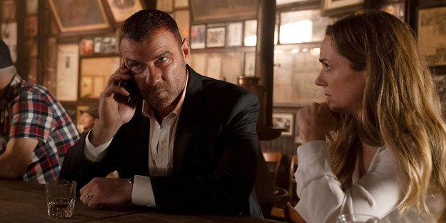 Liev Schreiber and Kerry Condon